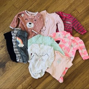 ✨🌸 Newborn Girl Mix Collection